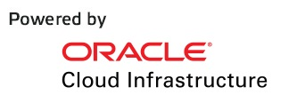 Powered by ORACLE Cloud INfrastructure